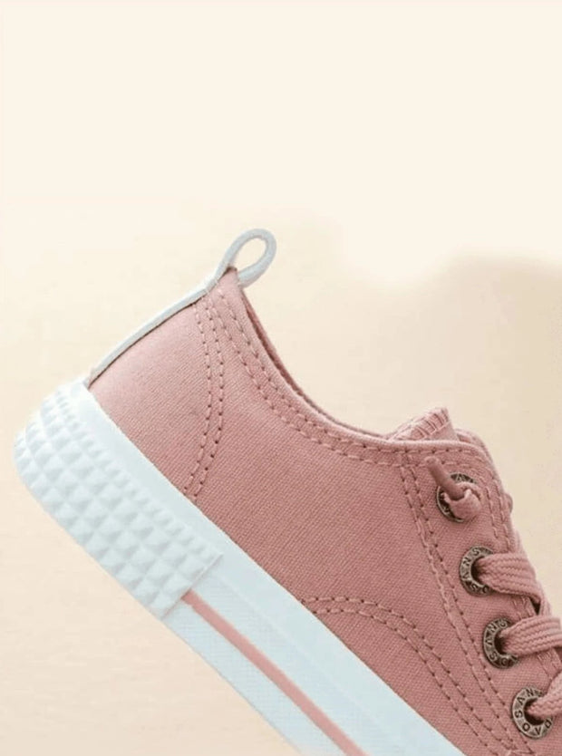 Girls Non-Slip Canvas Sneakers - Girls Sneakers