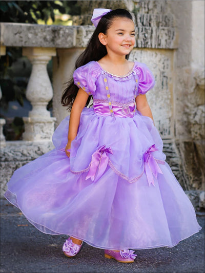 Girls Nutcracker & The Four Realms Inspired Clara Halloween Costume Dress - Girls Halloween Costume