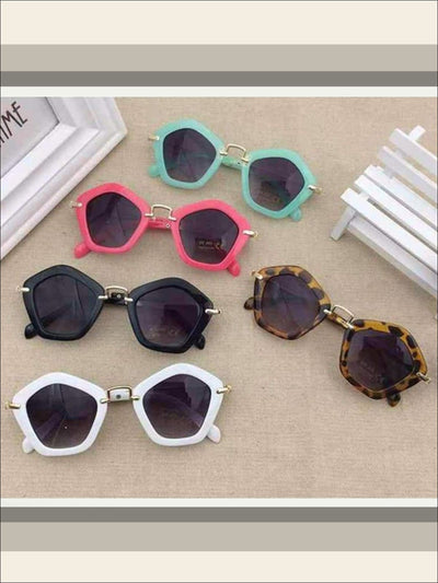 Girls Pentagon Sunglasses - Sunglasses