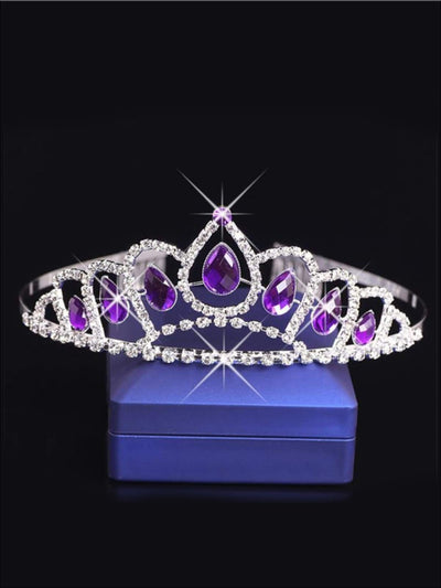 Girls Princess Sofia the First Inspired Crystal Tiara - One Size - Girls Halloween Costume
