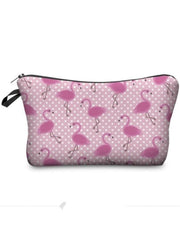 Girls Printed Pencil Case (9 options) - Pink Flamingo / 18-22cm