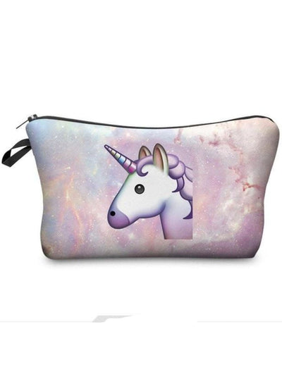 Girls Printed Pencil Case (9 options) - Unicorn / 18-22cm