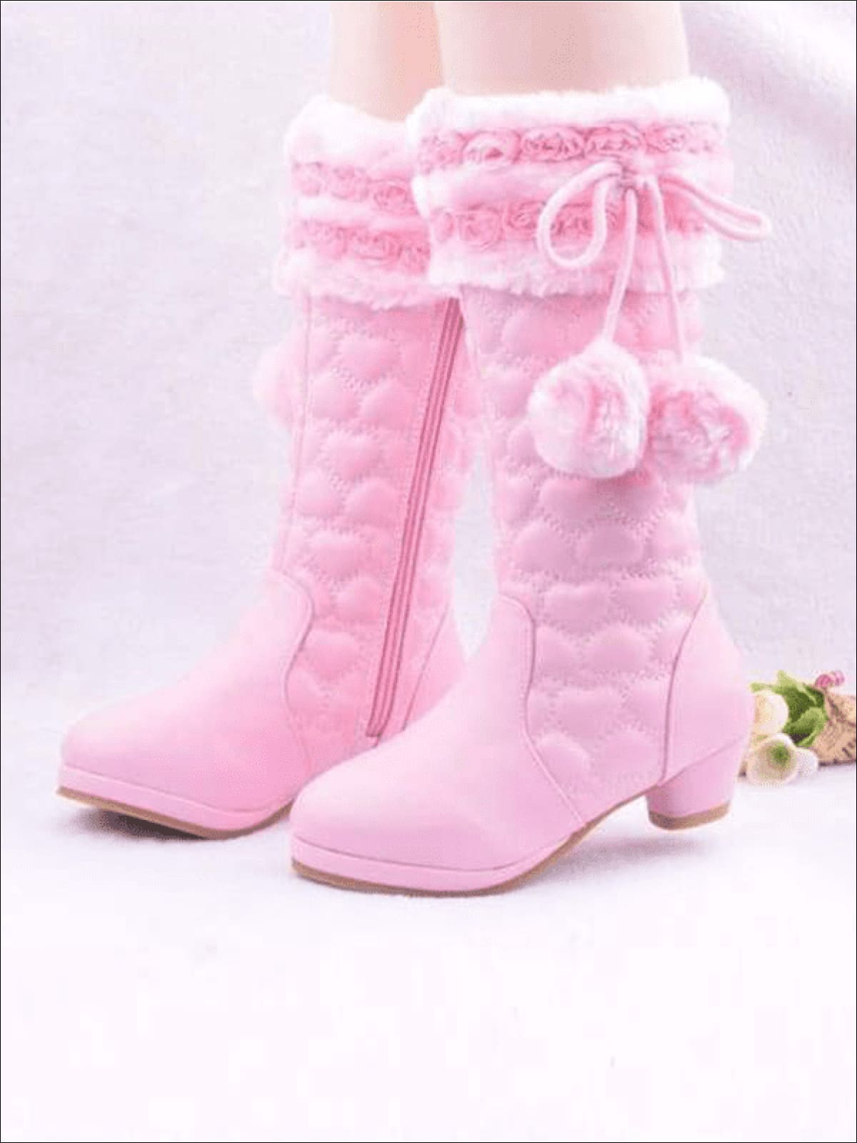 girls fuzzy boots