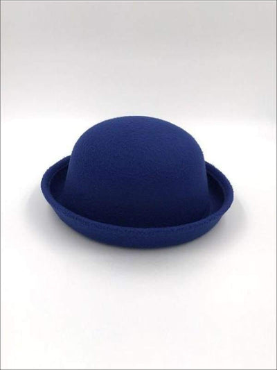 Girls Royal Blue Wool Hat JUL17CNALHAT1RB - Girls Hat