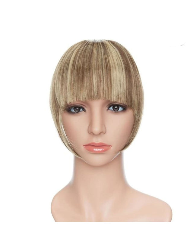 Girls Synthetic Removable Clip-On Bangs - 10-86 / One Size - Girls Halloween Costume