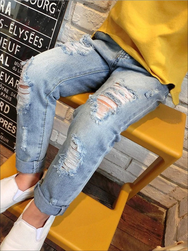 Girls Trendy Stone Washed Jeans - Girls Jeans