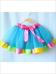 Girls Unicorn Rainbow Tutu Skirt - Girls Skirt