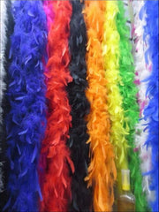 Girls Vintage Style Feather Boa Shawl ( Multiple Color Options) - Girls Halloween Costume