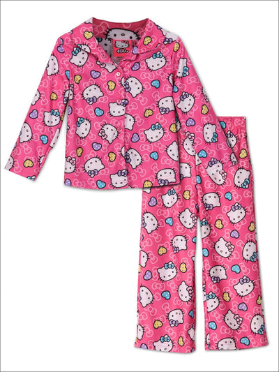 Hello Kitty Little Girls 2-Piece Pajama Set