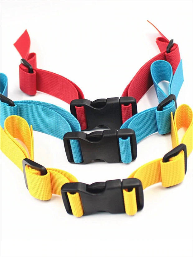 Kids Adjustable Chest Clip & Harness For Backpacks (4 color options) - Girls Backpack