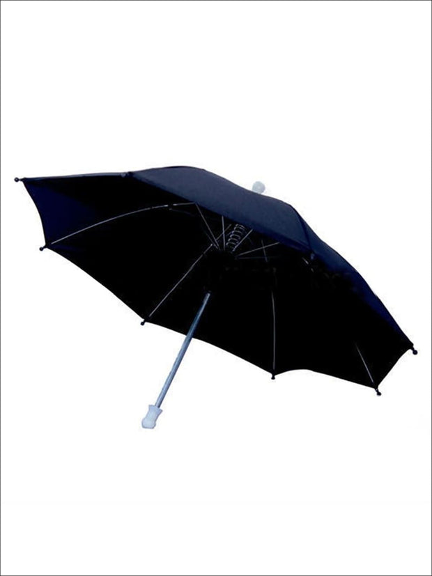 Kids Black Mary Poppins Umbrella - Black - Girls Halloween Costume