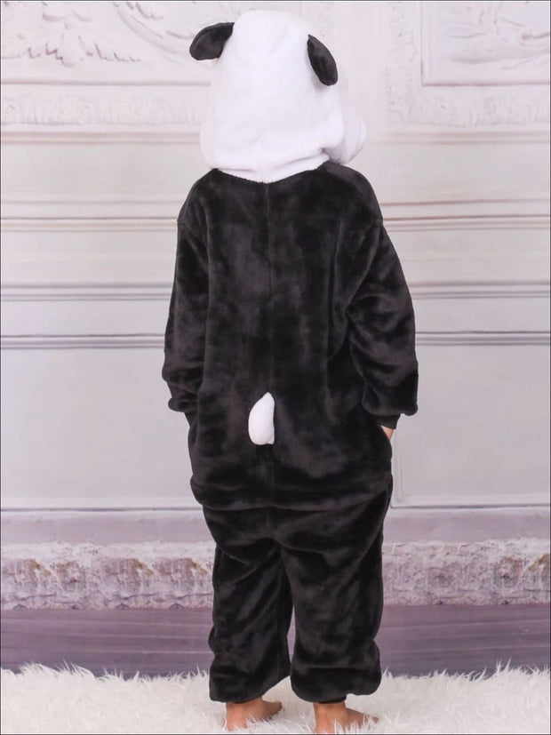 Kids Onesie Panda Hodded Pajamas - Girls Pajama