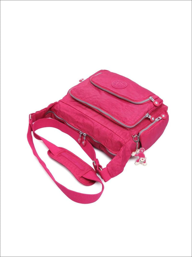 Kipling Inspired Nylon Shoulder Cross-Body Bag - Girls Backpacks