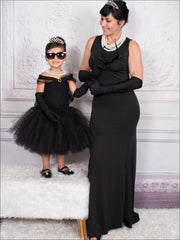 Mommy & Me Breakfast at Tiffanys Inspired Halloween Costume - Girls Halloween Costume