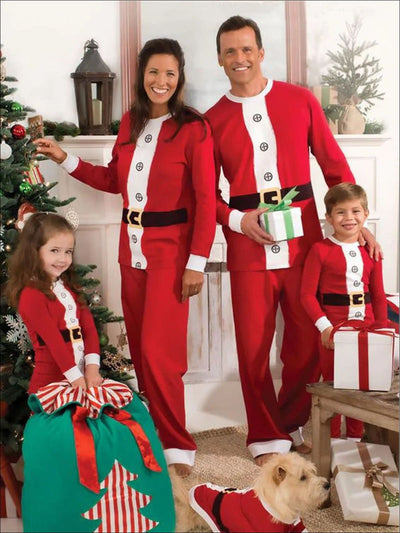 Mommy & Me Christmas Elf Pajamas - Mommy & Me Pajama