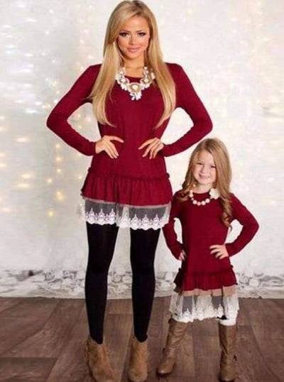 Mommy & Me Fashion Christmas Tunics - Mommy & Me Top