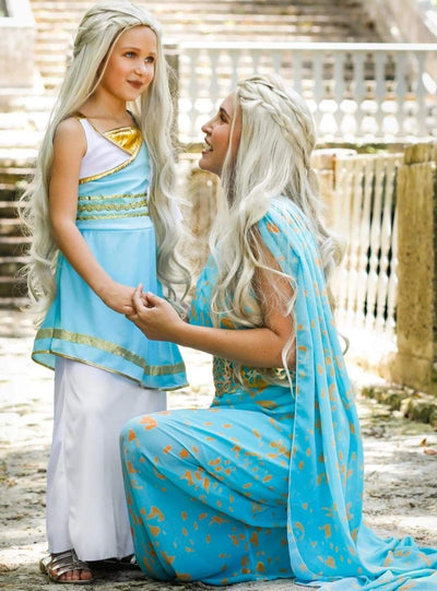 Mommy & Me Game of Thrones Inspired Daenerys/Mother of Dragons Costume - Mommy & Me Costume