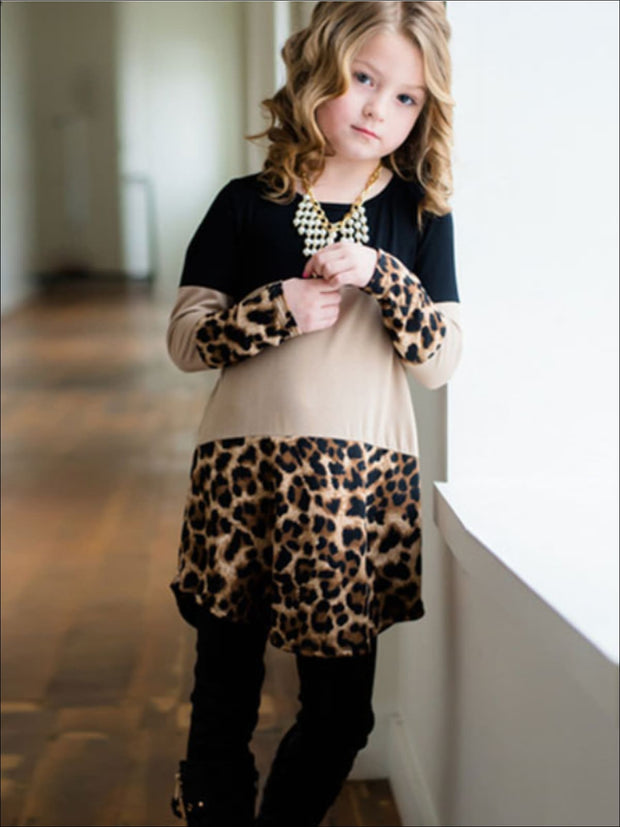 Mommy & Me Matching Leopard Tunic - Mommy & Me Top