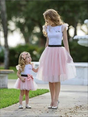 Mommy & Me Matching Spring Tutu Dress - Mommy & Me Dress