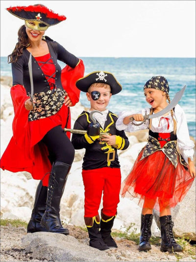 Mommy & Me Pirate Halloween Costume - Girls Halloween Costume