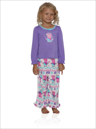 Peppa Pig Toddler Girls 2-Piece Pajama Set