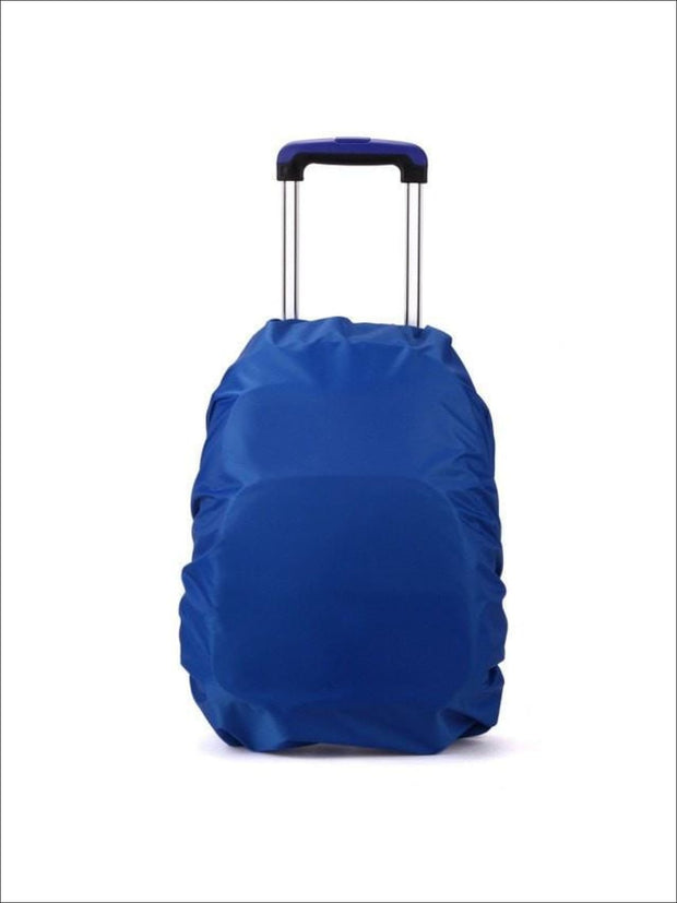 Rainproof Cover for School Backpack - blue / One - Rainproof cover