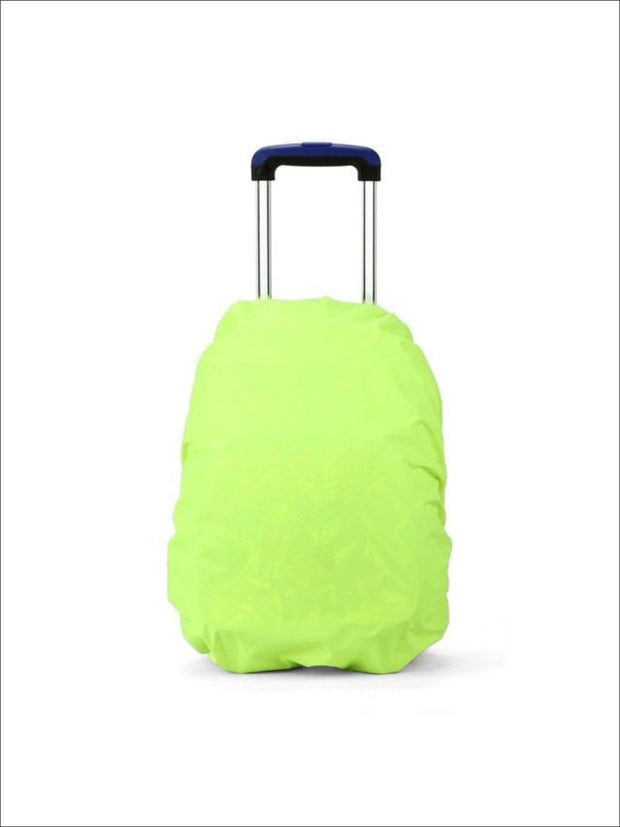 Rainproof Cover for School Backpack - green / One - Rainproof cover