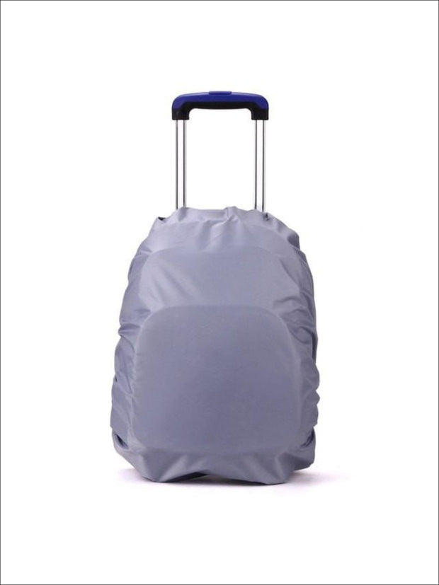 Rainproof Cover for School Backpack - Grey / One - Rainproof cover