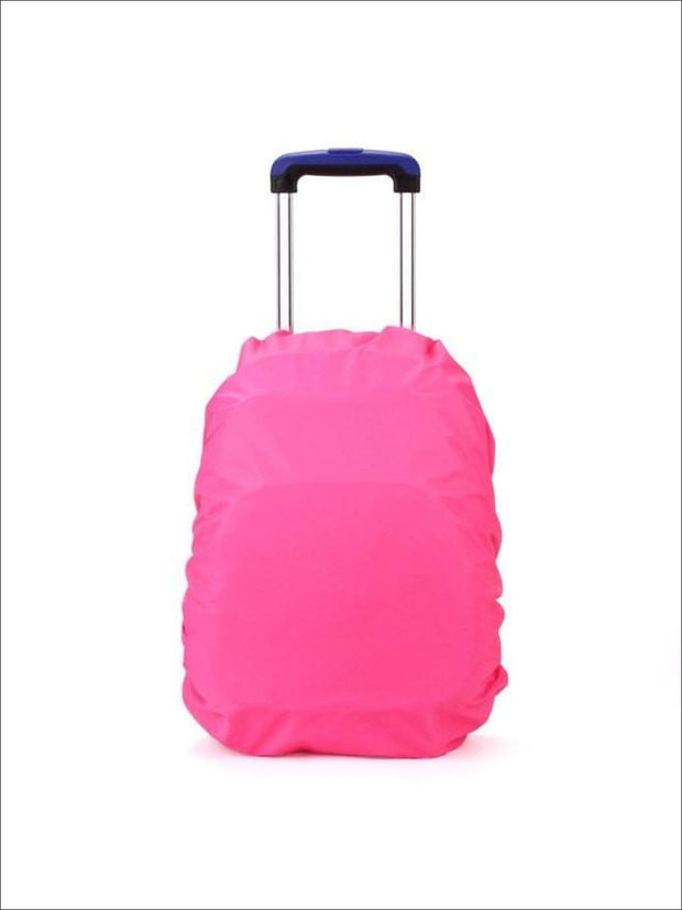 Rainproof Cover for School Backpack - hot pink / One - Rainproof cover
