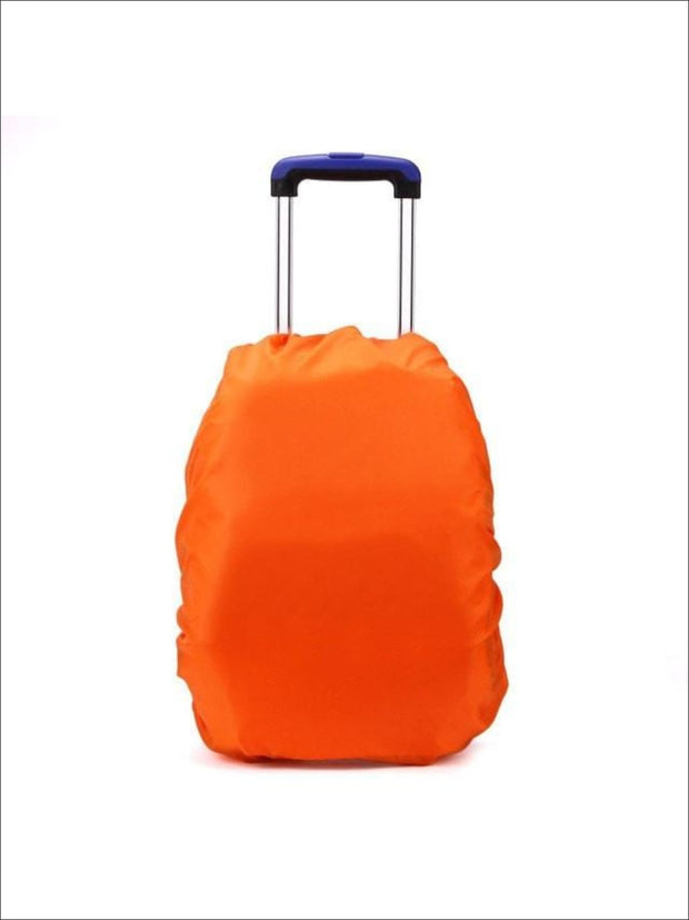 Rainproof Cover for School Backpack - orange / One - Rainproof cover