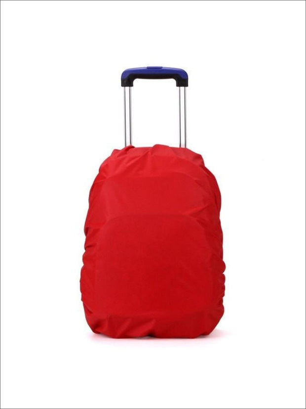 Rainproof Cover for School Backpack - red / One - Rainproof cover
