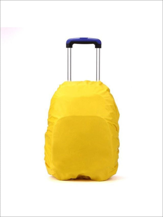 Rainproof Cover for School Backpack - yellow / One - Rainproof cover