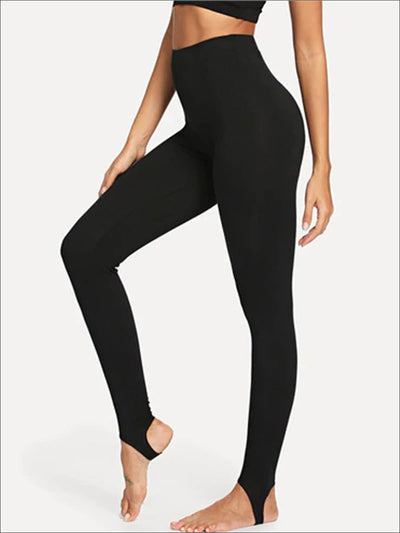 Womens High Rise Multifunctional Leggings - Black / XS - Womens Bottoms