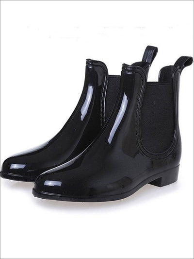 Womens Pointed Toe Waterproof Ankle Booties - Womens Boots