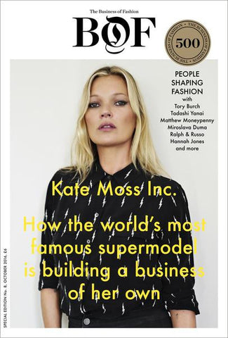 BoF BoF Issue 08 : Kate Moss Inc. & BoF 500 2016 - Urban Oxygen