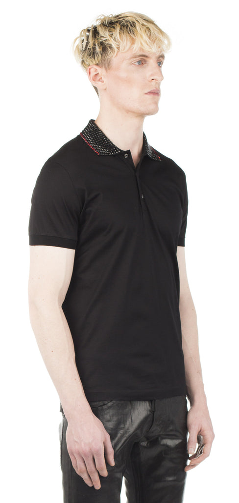Dsquared2 Studded Polo tshirt - Urban Oxygen
