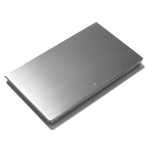 Claustrum Serve Card Case - Silver - Urban Oxygen