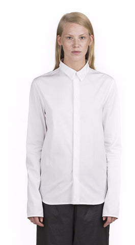 Y/Project Tailored White Shirt - Urban Oxygen