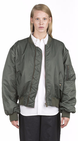 Y/Project Olive Bomber Jacket - Urban Oxygen