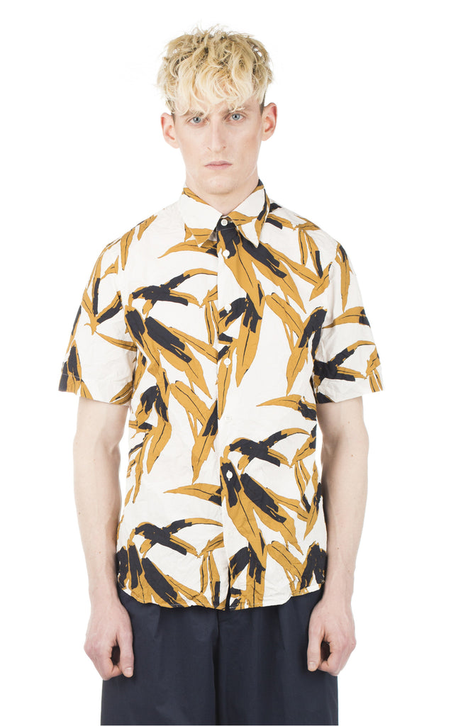 Marni Printed Short Sleeve Shirt - Urban Oxygen