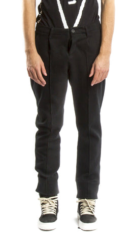 Ouret Dark Charcoal Trousers - Urban Oxygen