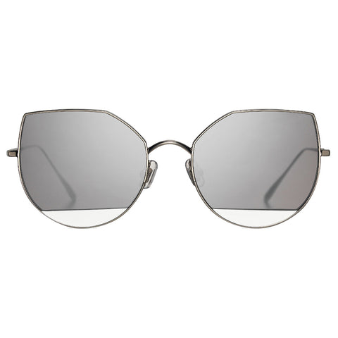 Gentle Monster x Song of Style US101 Silver 58mm Sunglasses - Urban Oxygen