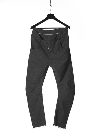 Leon Louis LL72 Bending Raw Trousers - Urban Oxygen
