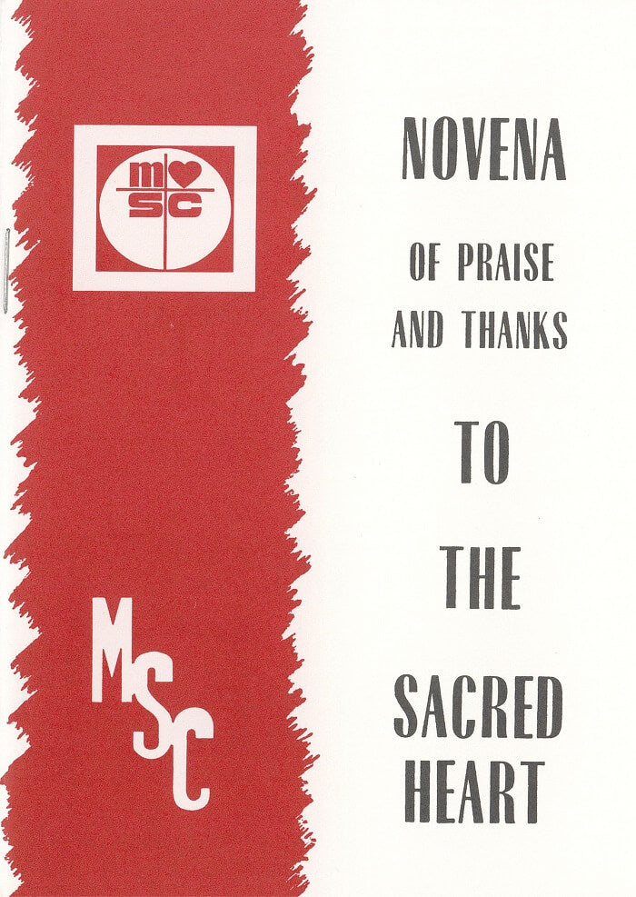 Novena of Praise and Thanks to the Sacred Heart – Pack of 5