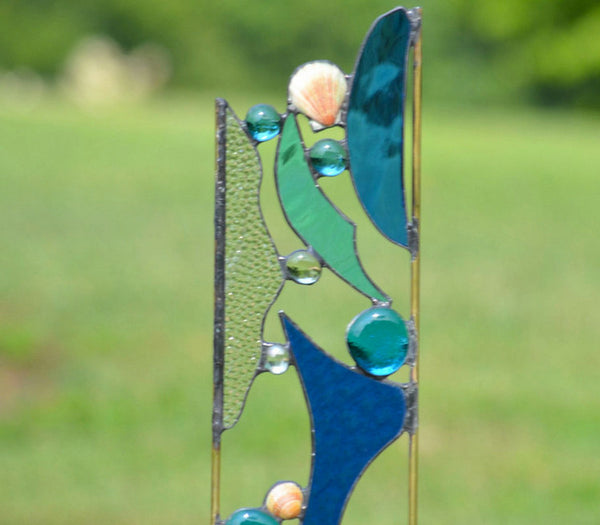Garden Stakes by windsong glass studio