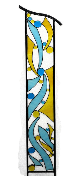 Large Stained Glass Garden Decoration