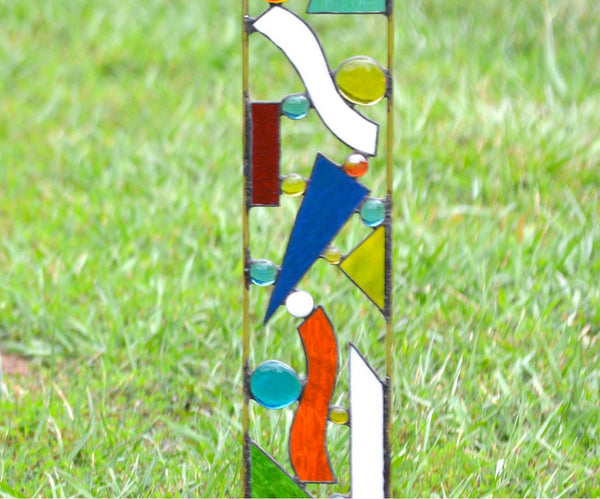Yard Art by windsong glass studio