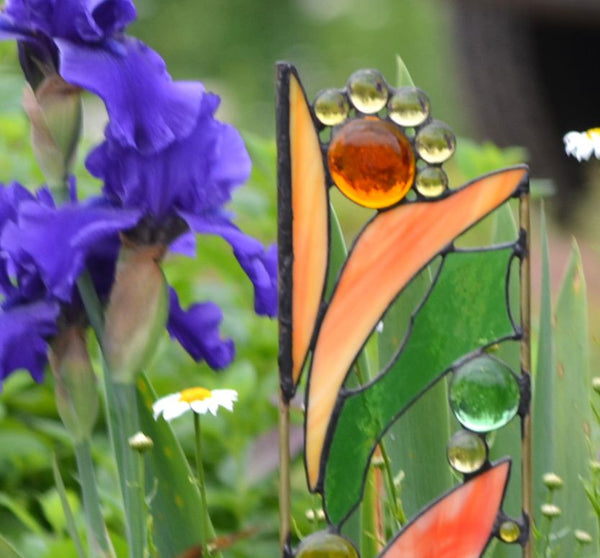 Garden Sculptures windsong glass studio