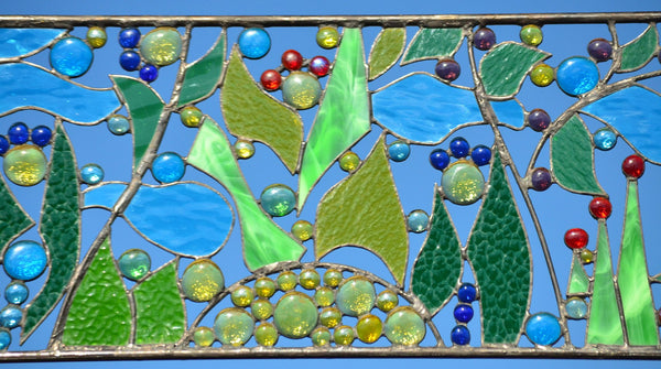 stained glass art by Windsong Glass Studio