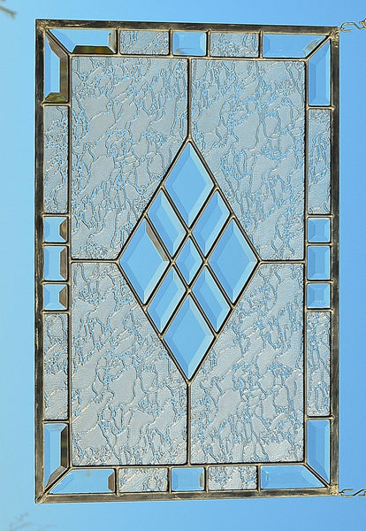 leaded stained glass panels